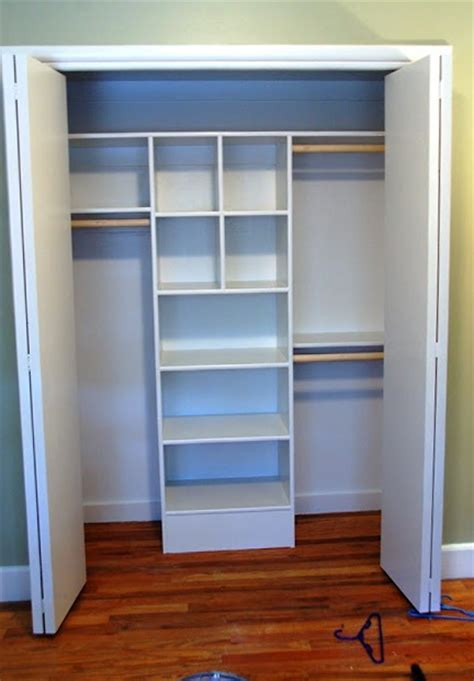 diy build shelves in closet woodworking expert projects