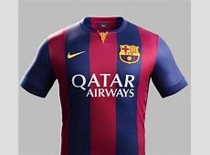 New Barcelona Home Kit 1415 Nike FCB Home Jersey 2014