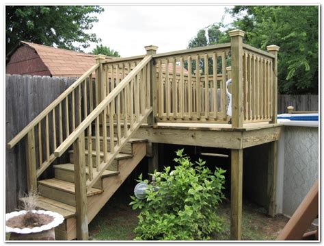 Attaching Pool Ladder To Deck