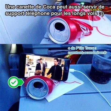 comment cuisiner une canette une canette de coca peut aussi servir de support téléphone