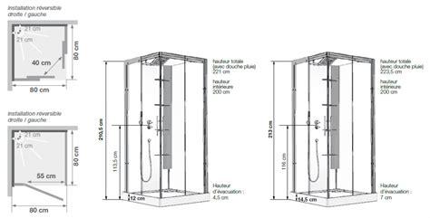 cuisine avec electromenager inclus cabine de horizon c90 receveur faible hauteur