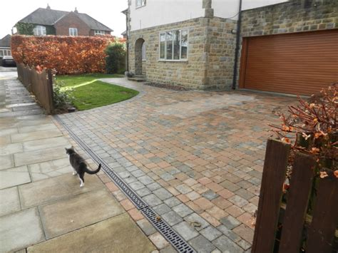 driveway drainage problems block paved driveway and drainage system olive garden design and landscaping