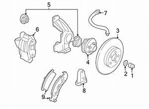 Chevrolet Cavalier Abs Wheel Speed Sensor  Components