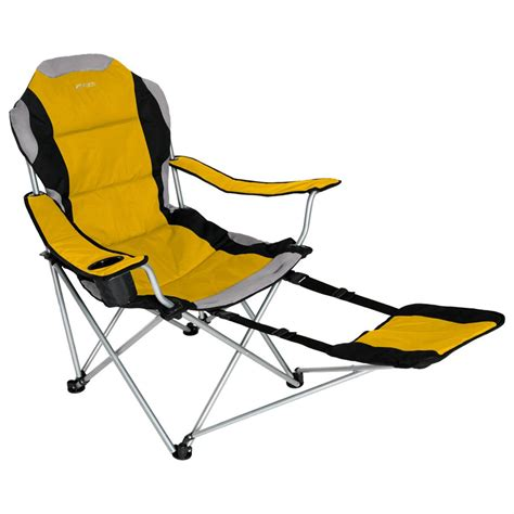 chair with footrest xscape designs 174 sportline xl folding chair w footrest 4353