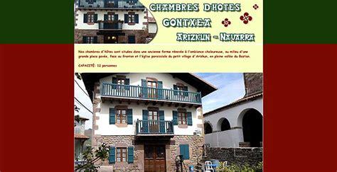 chambre d hote frontiere espagnole chambres d 39 hôtes au pays basque espagnol