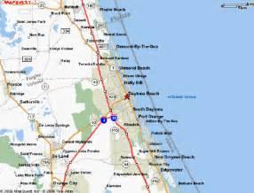 Daytona Beach Florida Map