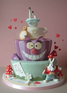 alice in wonderland - cake by Dawn - CakesDecor