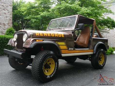 jeep cj renegade jeep cj 7 renegade