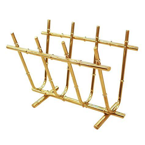 magazine rack with l brass faux bamboo magazine rack magazine racks john