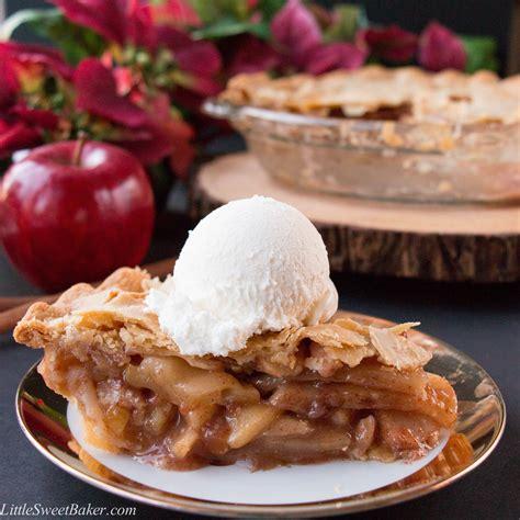 easy pie recipes easy homemade apple pie video little sweet baker
