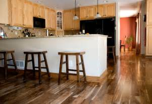 Engineered Hardwood Flooring Pros And Cons by Asian Walnut Eclectic Kitchen Denver By Magnus
