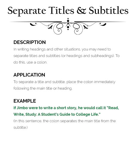 How To Use Colons  The Visual Communication Guy Designing, Writing, And Communication Tips For