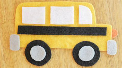 printable school bus craft template keeping life creative