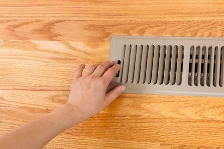 block unwanted air   heating vent