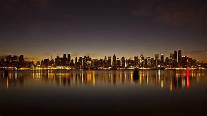 Skyline Detroit York Wallpapers Sunrise Desktop Wallpapertag