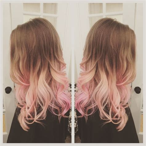 Pink Hair Balayage Ombré Hair Before And Afters Hair
