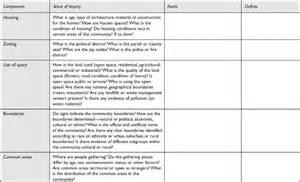 Community Nursing Windshield Survey Example