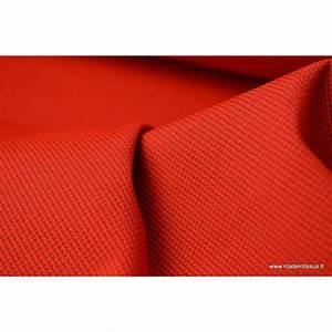 tissu d39exterieur en polypro teint dans la masse rouge With wonderful rideaux pour tonnelles exterieur 7 tonnelle etanche