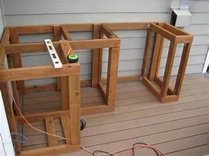 Holzschrank Selber Bauen : how to build outdoor kitchen cabinets outdoor k che ~ Michelbontemps.com Haus und Dekorationen