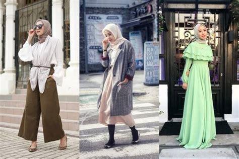 kasual hingga formal  ide gaya ootd hijab ala laudya