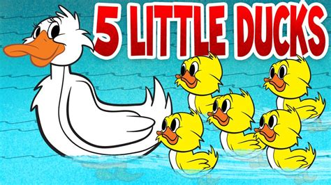 five ducks songs for children with lyrics 559 | maxresdefault