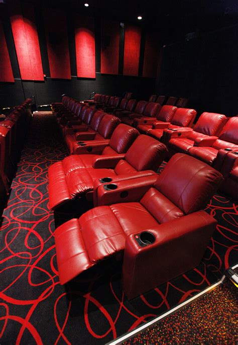 Theatre With Reclining Chairs Nyc by Theater Upgrades In Oklahoma City Include Comfy Power