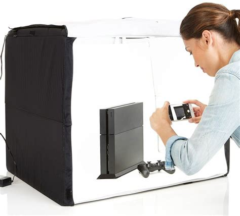 amazonbasics portable photo studio  gadgets