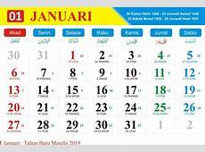 Download dan Instal Kalender 2019 Lengkap Jawa dan