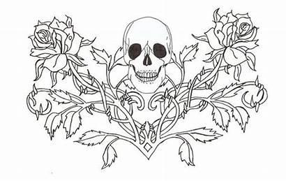 Coloring Gothic Fairy Adults Goth Fairies Horror