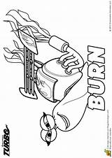 Burn Turbo Coloring Hugolescargot Enregistree Depuis sketch template