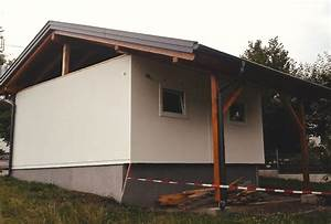 Dach Für Garage : dach f r fertiggarage hattinger holzbau gmbh ~ Lizthompson.info Haus und Dekorationen
