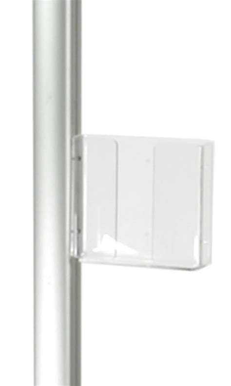 plastic magazine holders acrylic pocket 8 5 x 11 magazine holder for display pole 1545