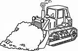 Coloring Bulldozer Construction Pages Printable Dozer Tools Drawing Equipment Truck Lego Heavy Colouring Monster Draw Combine Garbage Tool Getcolorings Clipartmag sketch template