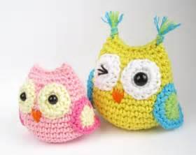 buho tejido a crochet patrones imagui