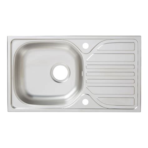 turing  bowl linen finish stainless steel sink drainer