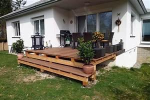 Terrasse Tiefer Als Garten : gem tliche terrassen zur erholung vom steirischen holzbau meister wohnraum im freien ~ Orissabook.com Haus und Dekorationen