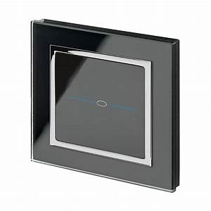 Led Touch Dimmer : crystal ct led dimmer touch light switch 1 gang black retrotouch designer light switches ~ Frokenaadalensverden.com Haus und Dekorationen