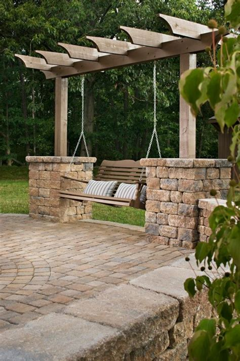 Garten Gestalten Pergola gartenschaukel ver 228 ndert den gartenlook auf eine tolle