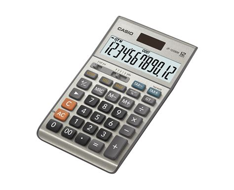 Casio Desk Calculator by Casio Jf 120tm Semi Desk Calculator Calculators Home