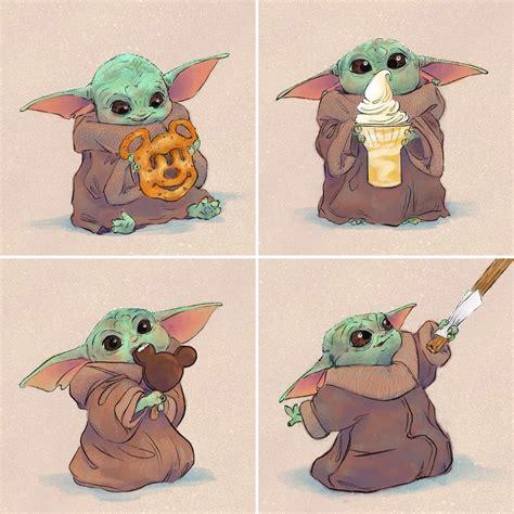 20 Best Star Wars Art Baby Yoda - The Mandalorian – The ...