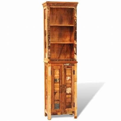 Bookshelf Wood Solid Reclaimed Vidaxl