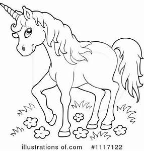 Unicorn Clipart #1117122 - Illustration by visekart