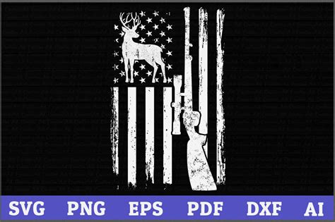 Also you can search for other artwork with our tools. Deer Hunting American Flag SVG Design,American Hunting svg ...