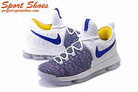 2017 Latest Nike Zoom KD 9 Mens Basketball Shoes For Sale Gray White    Kd 7 Shoes 2017