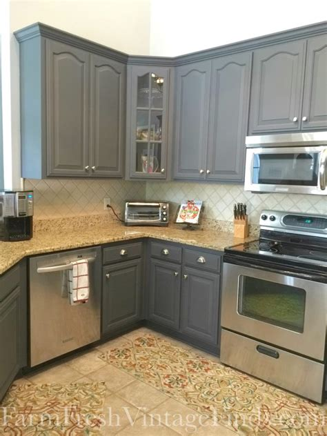 Paint Ideas With Cabinets by Painting Kitchen Cabinets With General Finishes Milk Paint