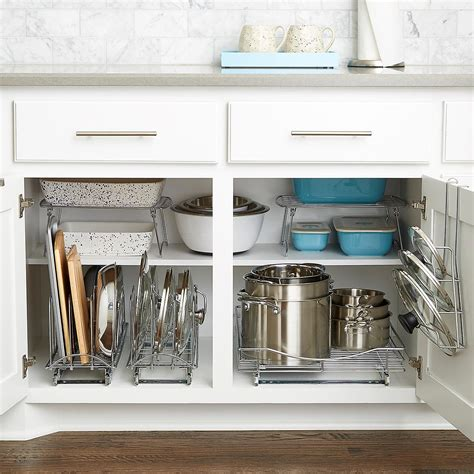 Pullout Shelf  Lynk Chrome Pullout Cabinet Drawers