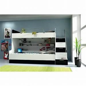 Lit 2 Places Moderne : meuble et mobilier pour ado lit pour chambre d 39 ado literie pour les adolescents d corer ~ Teatrodelosmanantiales.com Idées de Décoration