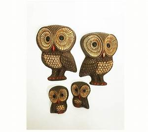 vintage owl wall plaques owl wall decor decorative owls With owl wall decor