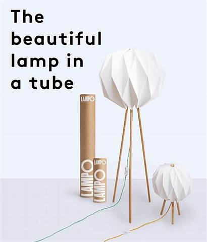 Tube Lamp Kickstarter Milk Maple Japanese Comes