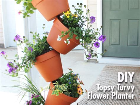 topsy turvy planter 24 diy garden projects anyone can make